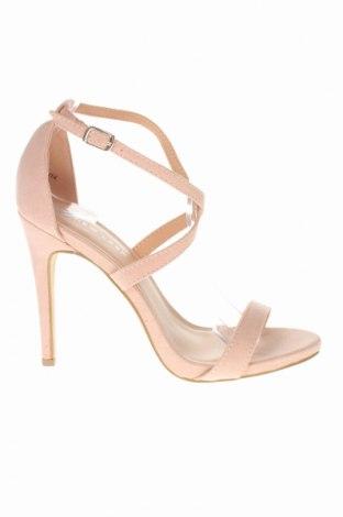 Σανδάλια New Look, Μέγεθος 38, Χρώμα Ρόζ , Κλωστοϋφαντουργικά προϊόντα, Τιμή 19,77€