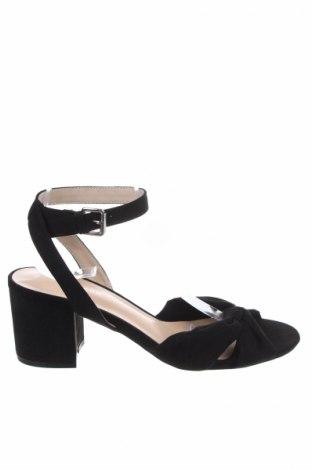 Σανδάλια New Look, Μέγεθος 40, Χρώμα Μαύρο, Κλωστοϋφαντουργικά προϊόντα, Τιμή 16,88€