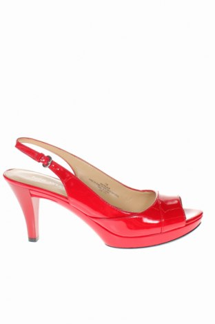 Σανδάλια Nine West, Μέγεθος 37, Χρώμα Κόκκινο, Δερματίνη, Τιμή 47,54€