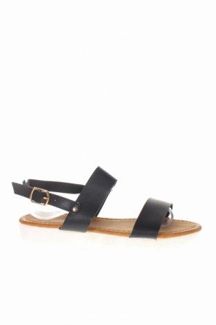 Sandály Rue Princesse, Velikost 36, Barva Černá, Eko kůže, Cena  286,00Kč