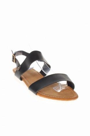 Σανδάλια Rue Princesse, Μέγεθος 36, Χρώμα Μαύρο, Δερματίνη, Τιμή 26,47€