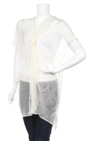 Туника Oysho, Размер S, Цвят Бял, 95% вискоза, 5% метални нишки, Цена 28,00лв.