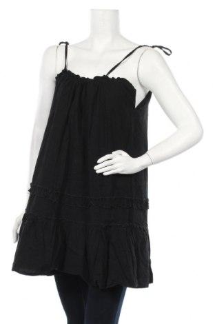 Τουνίκ Pretty Summer, Μέγεθος XL, Χρώμα Μαύρο, 65% πολυεστέρας, 30% βαμβάκι, 5% ελαστάνη, Τιμή 7,98€