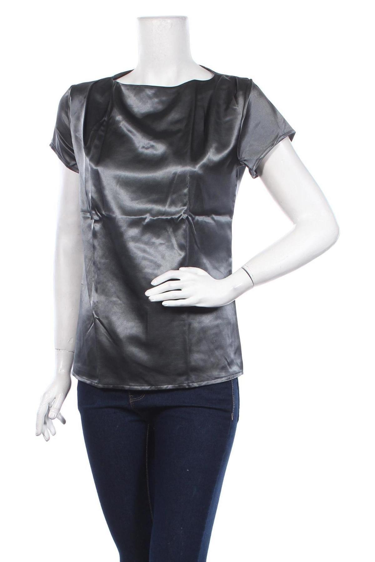 Γυναικεία μπλούζα Nife, Μέγεθος S, Χρώμα Γκρί, 95% πολυεστέρας, 5% ελαστάνη, Τιμή 14,69€