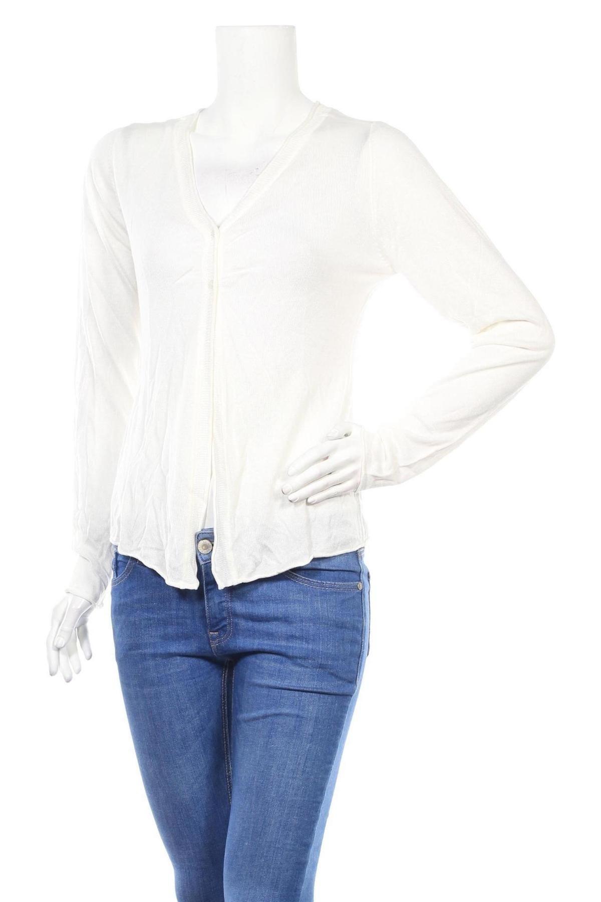 Дамска жилетка Noppies, Размер M, Цвят Бял, Вискоза, Цена 20,47лв.