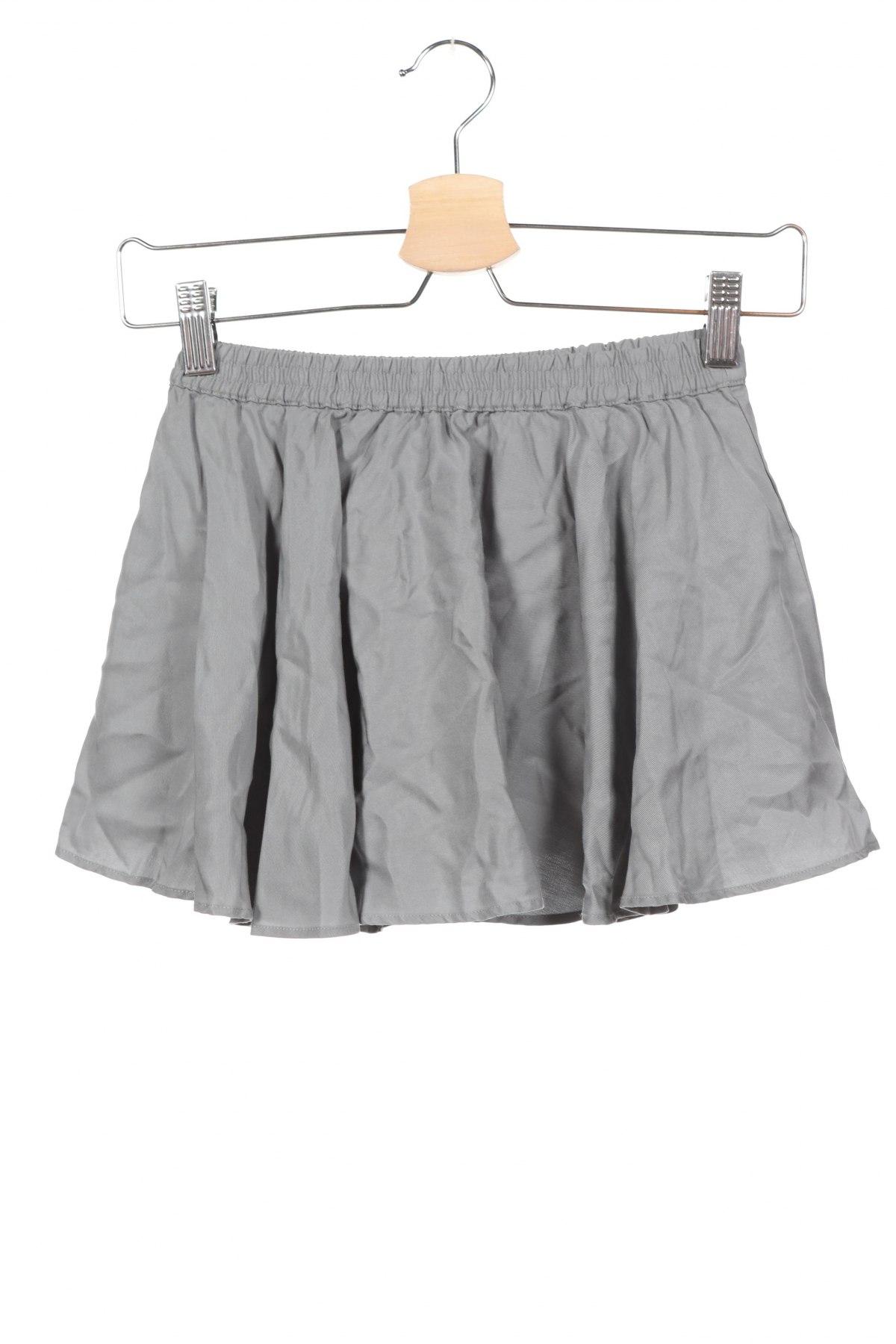 Παιδική φούστα Gocco, Μέγεθος 5-6y/ 116-122 εκ., Χρώμα Γκρί, Lyocell, Τιμή 13,40€