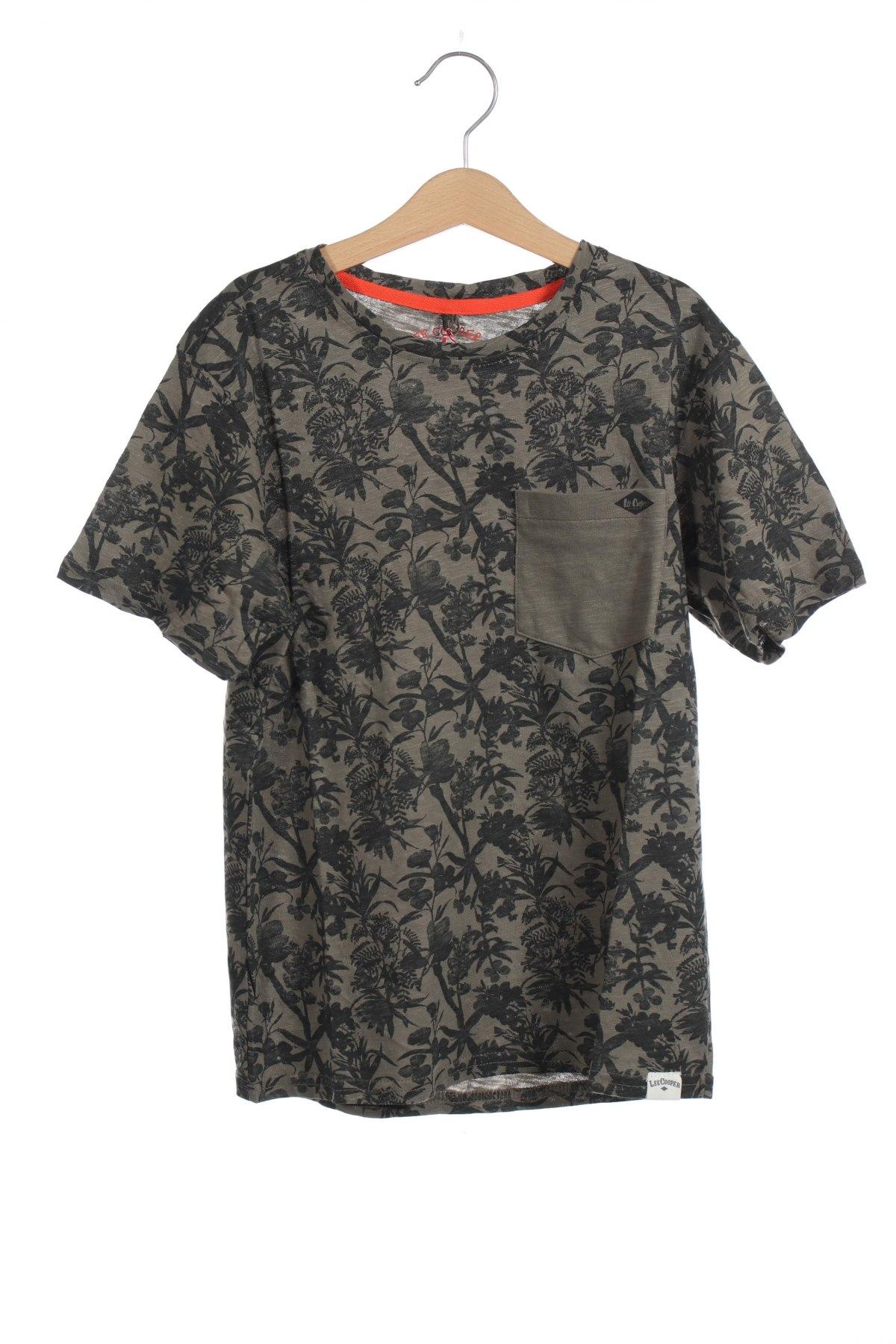 Детска тениска Lee Cooper, Размер 11-12y/ 152-158 см, Цвят Зелен, Памук, Цена 24,00лв.