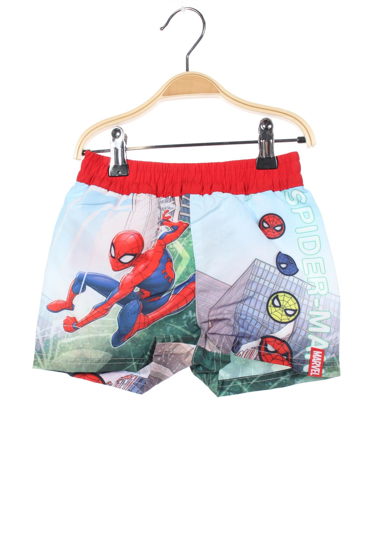 Παιδικό κοντό παντελόνι Marvel, Μέγεθος 2-3y/ 98-104 εκ., Χρώμα Πολύχρωμο, Πολυεστέρας, Τιμή 7,89€