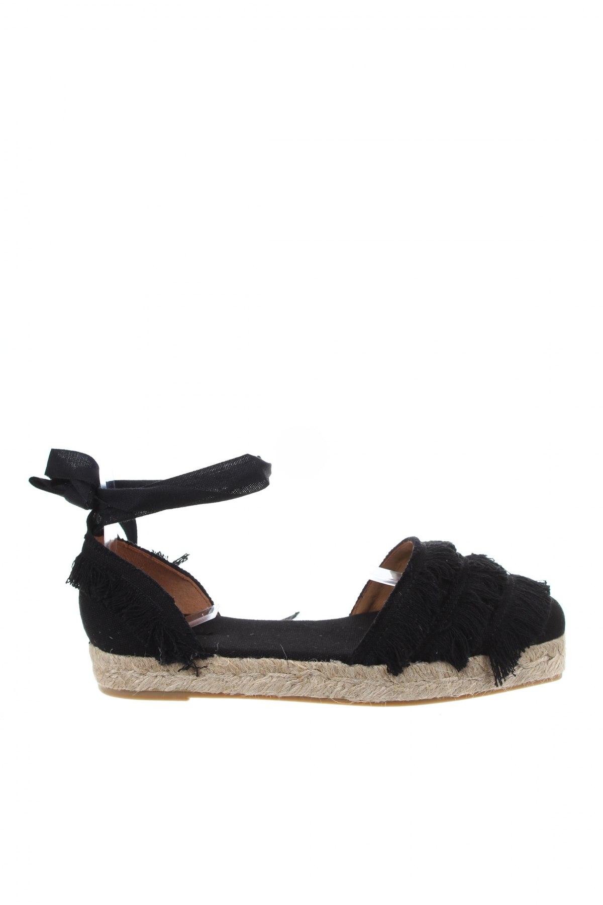 Εσπάδριλλες Castaner, Μέγεθος 37, Χρώμα Μαύρο, Κλωστοϋφαντουργικά προϊόντα, Τιμή 38,40€
