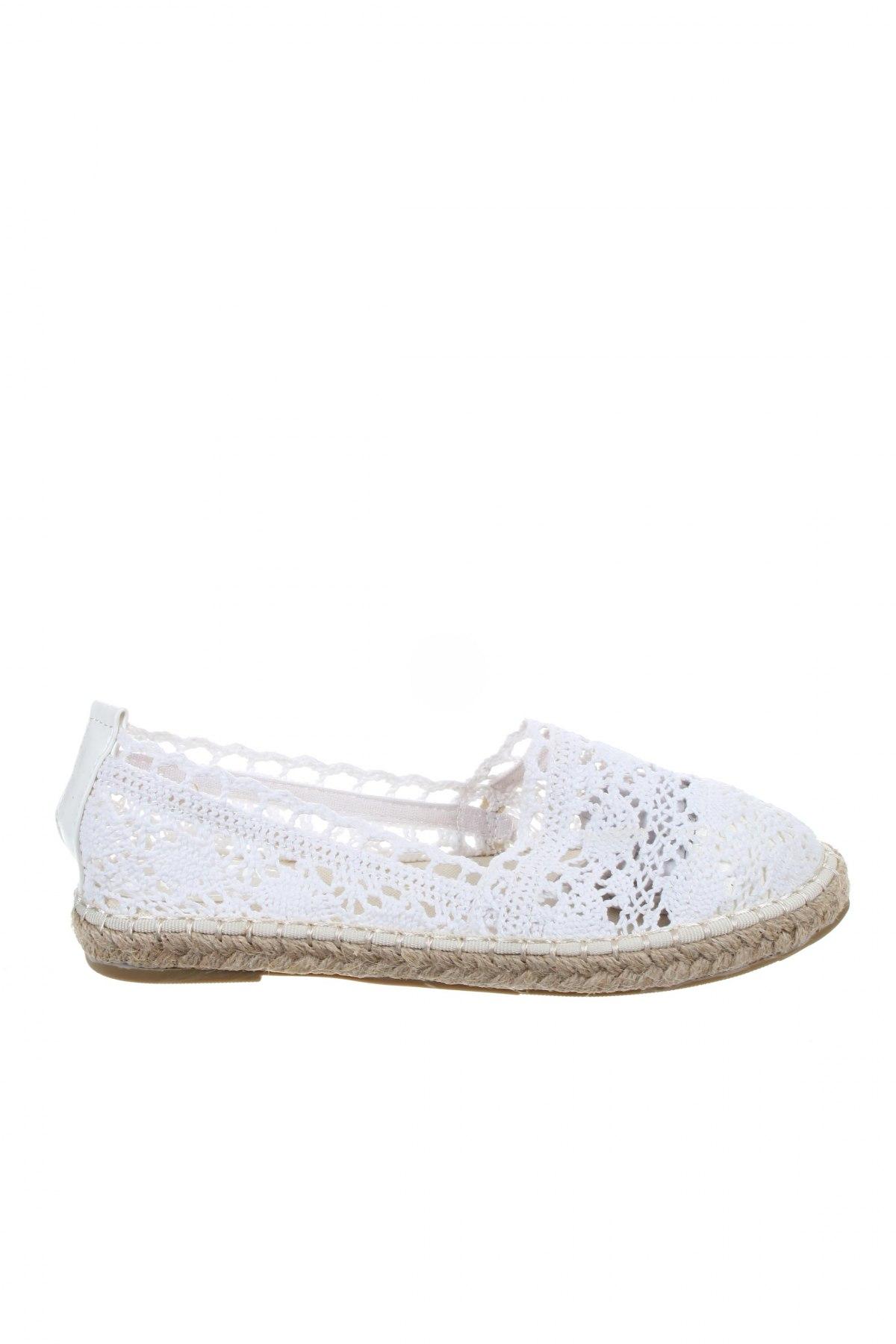 Εσπάδριλλες Coco Perla, Μέγεθος 36, Χρώμα Λευκό, Κλωστοϋφαντουργικά προϊόντα, Τιμή 14,07€