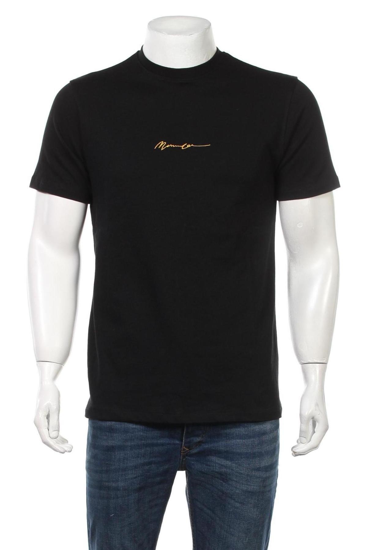Мъжка тениска Mennace, Размер XS, Цвят Черен, Памук, Цена 28,50лв.