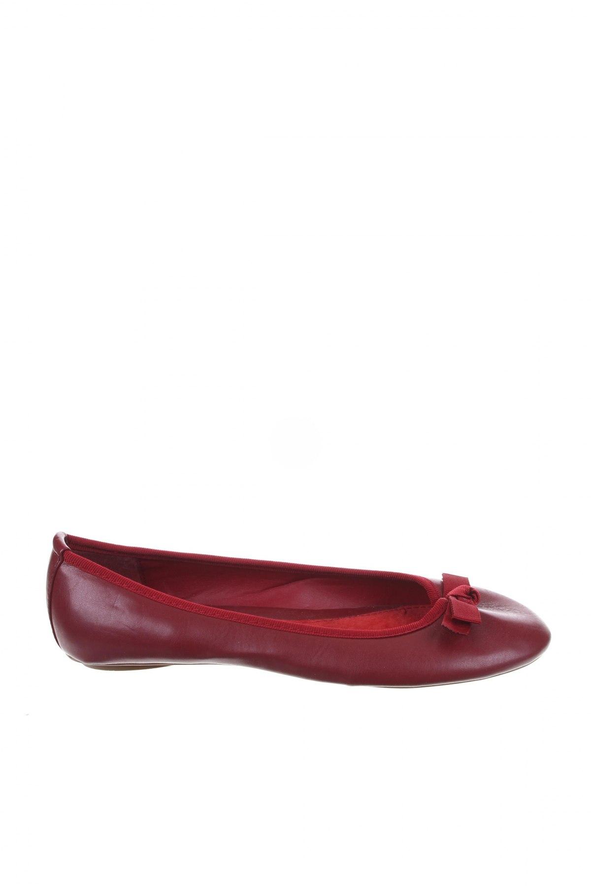 Γυναικεία παπούτσια Camaieu, Μέγεθος 36, Χρώμα Κόκκινο, Γνήσιο δέρμα, Τιμή 11,08€