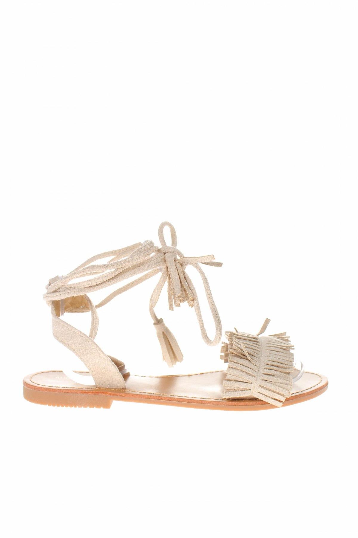 Σανδάλια Rue Princesse, Μέγεθος 37, Χρώμα Λευκό, Κλωστοϋφαντουργικά προϊόντα, Τιμή 25,65€