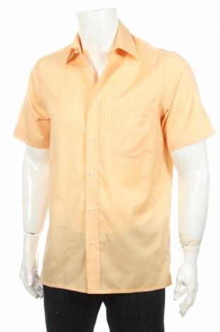 Ανδρικό πουκάμισο Vinci, Μέγεθος S, Χρώμα Πορτοκαλί, Βαμβάκι, Τιμή 2,17€