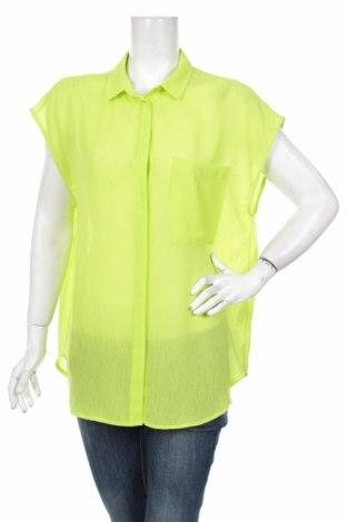 Γυναικείο πουκάμισο Monki, Μέγεθος S, Χρώμα Πράσινο, Πολυεστέρας, Τιμή 11,13€
