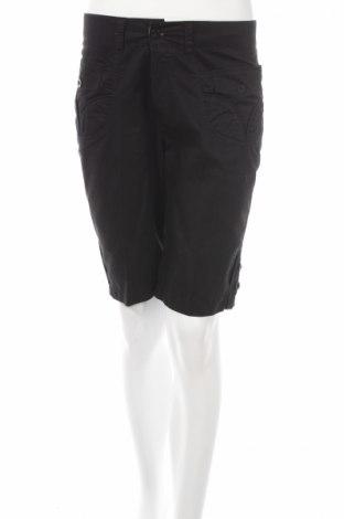 Γυναικείο κοντό παντελόνι, Μέγεθος S, Χρώμα Μαύρο, 100% βαμβάκι, Τιμή 3,91€