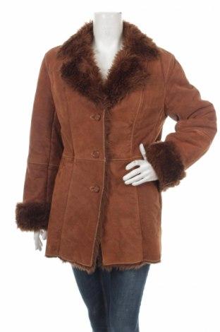 Palton din piele pentru damă Biba