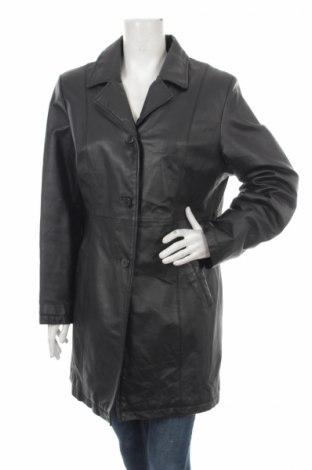 Palton din piele pentru damă Yessica