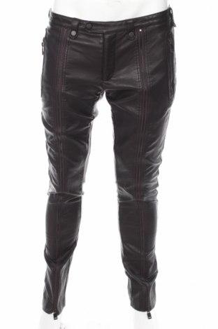 skórzane spodnie męskie zara