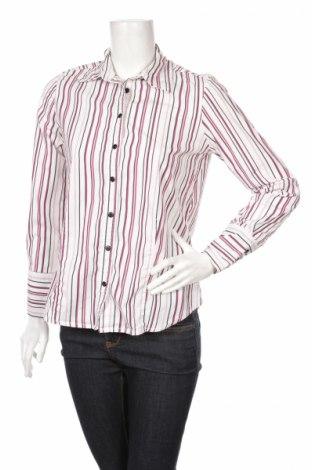 Дамска риза Cleo, Размер M, Цвят Бял, 70% памук, 27% полиамид, 3% еластан, Цена 9,66лв.