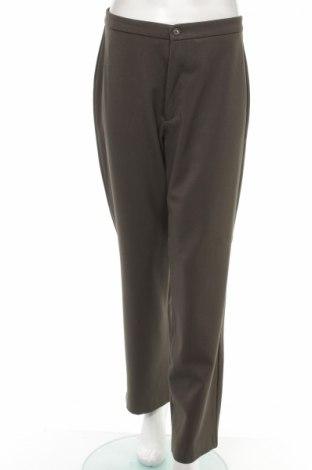 Дамски панталон Angels, Размер L, Цвят Зелен, 62% полиестер, 30% вискоза, 8% еластан, Цена 11,73лв.