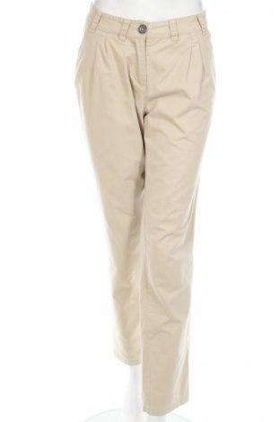 Дамски панталон Classic Meet Trends, Размер L, Цвят Бежов, Памук, Цена 37,40лв.