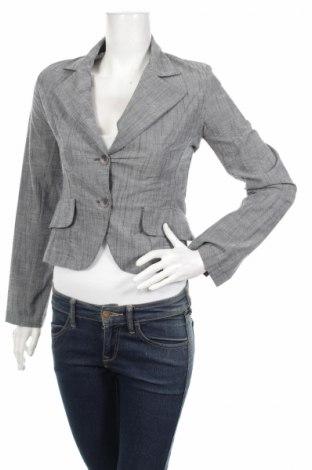 Дамско сако, Размер S, Цвят Сив, 97% памук, 3% еластан, Цена 7,60лв.