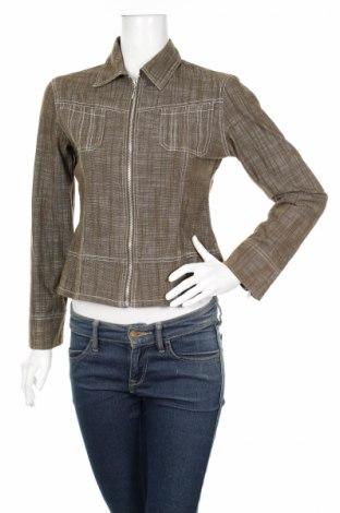 Дамско яке, Размер M, Цвят Зелен, 79% памук, 20% полиестер, 1% еластан, Цена 7,14лв.