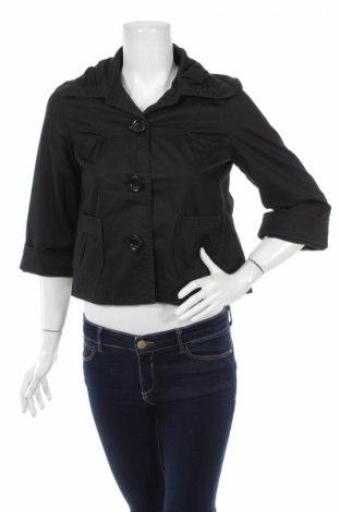 Дамско яке Attentif, Размер M, Цвят Черен, 95% памук, 5% еластан, Цена 9,60лв.