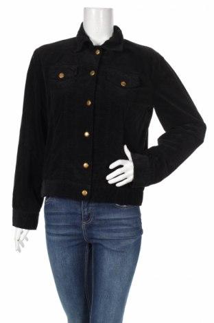 Дамско яке Bottega, Размер L, Цвят Черен, 97% памук, 3% еластан, Цена 84,00лв.