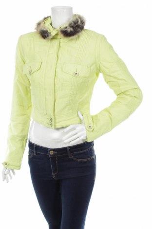Дамско яке Cassidi, Размер S, Цвят Зелен, 60% памук, 35% полиамид, 5% метал, Цена 42,20лв.
