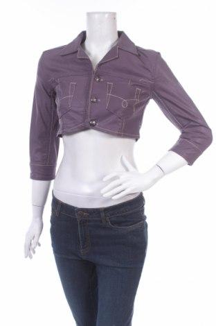 Дамско яке Cassidi Boutique, Размер XS, Цвят Лилав, 98% памук, 2% еластан, Цена 32,00лв.