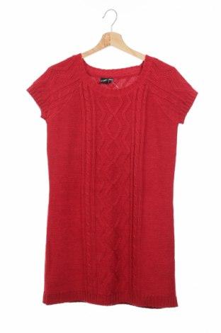 Παιδικό πουλόβερ Crash One, Μέγεθος 15-18y/ 170-176 εκ., Χρώμα Κόκκινο, Τιμή 8,50€