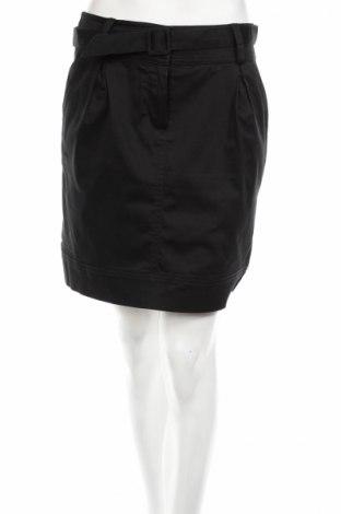 Пола H&M, Размер M, Цвят Черен, 97% памук, 3% еластан, Цена 9,43лв.