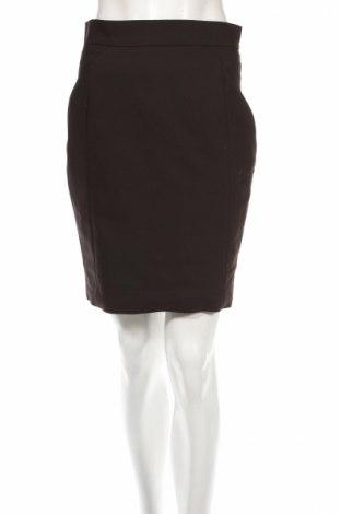 Пола H&M, Размер M, Цвят Черен, 61% памук, 34% полиестер, 5% еластан, Цена 10,58лв.