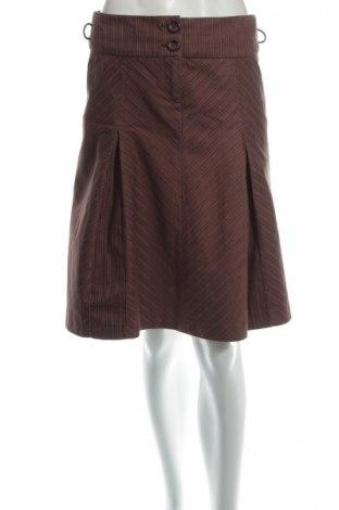 Пола S.Oliver, Размер S, Цвят Кафяв, 97% памук, 2% еластан, 1% полиестер, Цена 8,97лв.