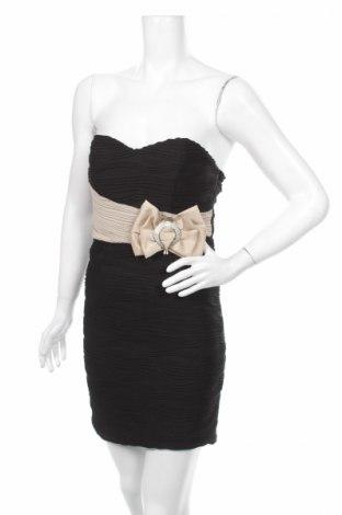 Šaty  Azaka, Veľkosť M, Farba Čierna, 100% polyester, Cena  10,89€