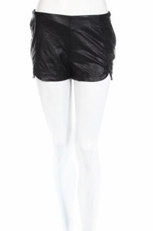 Дамски къс кожен панталон H&M