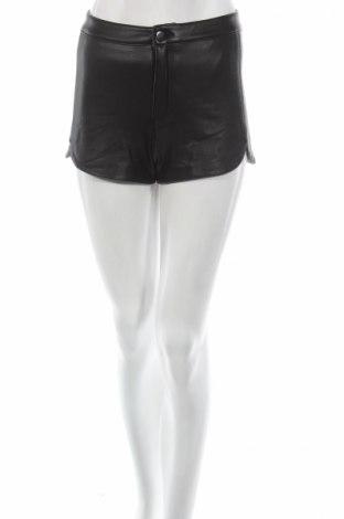 Дамски къс кожен панталон Laura Torelli