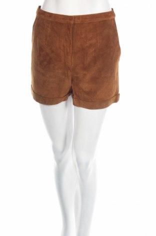 Дамски къс кожен панталон Monki