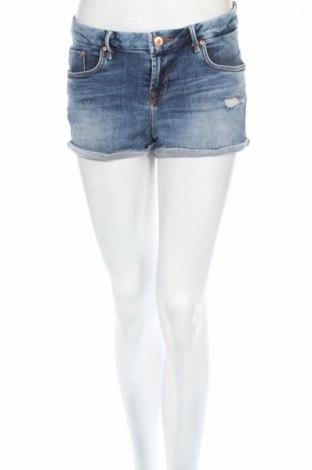 Дамски къс панталон Ltb, Размер S, Цвят Син, 98% памук, 2% еластан, Цена 28,62лв.