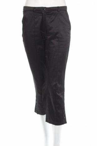 Дамски панталон Steilmann, Размер S, Цвят Черен, 50% полиестер, 47% памук, 3% еластан, Цена 9,27лв.