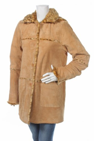 Дамско кожено палто Authentic