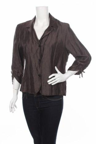 Дамско сако Laura Lebek, Размер M, Цвят Кафяв, 90% лен, 10% полиамид, Цена 8,74лв.