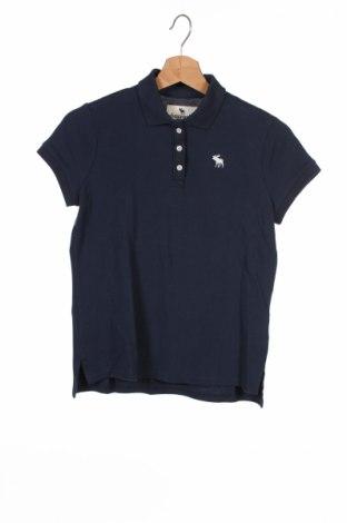 Детска тениска Abercrombie Kids, Размер 11-12y/ 152-158 см, Цвят Син, 96% памук, 4% еластан, Цена 30,68лв.