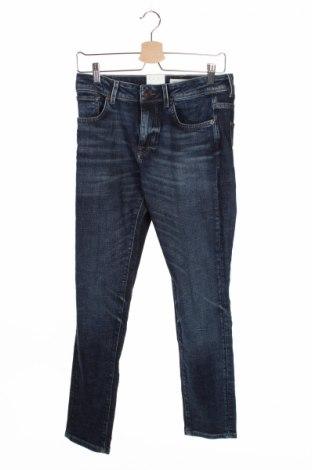 Blugi de bărbați Selected Homme, Mărime S, Culoare Albastru, 98% bumbac, 2% elastan, Preț 63,70 Lei