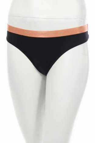 Бикини Emporio Armani Underwear, Размер L, Цвят Черен, Памук, Цена 56,55лв.