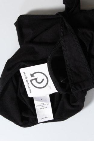 Боди, Размер S, Цвят Черен, 95% памук, 5% еластан, Цена 20,16лв.