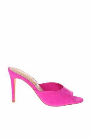 Γυναικείες παντόφλες Aldo, Μέγεθος 38, Χρώμα Ρόζ , Φυσικό σουέτ, Τιμή 29,82€