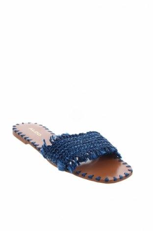 Γυναικείες παντόφλες Aldo, Μέγεθος 37, Χρώμα Μπλέ, Κλωστοϋφαντουργικά προϊόντα, Τιμή 18,10€